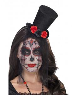 Sombrero día de los muertos mujer