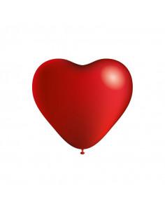 Globos de corazón 100uds