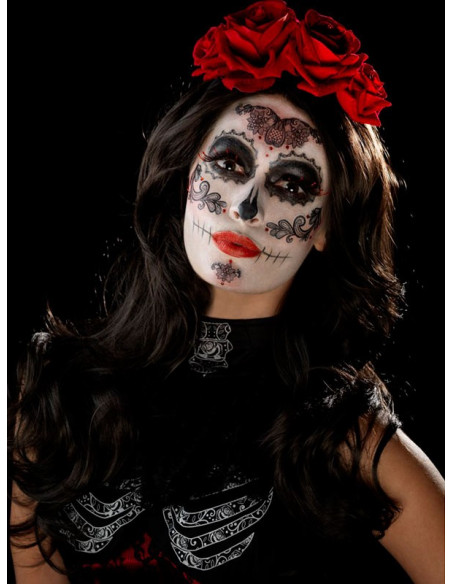 Kit maquillaje Catrina resultado