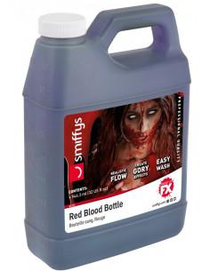 Sangre artificial en garrafa