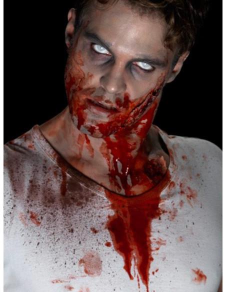 Sangre artificial en garrafa detalles
