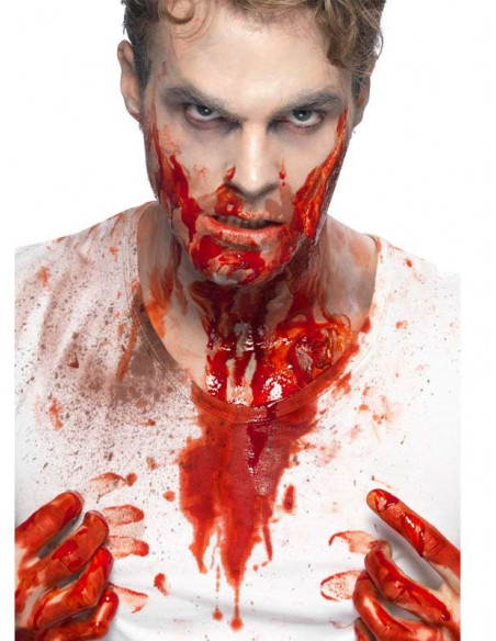 Sangre artificial en garrafa hombre