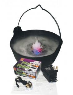 Humo con motor crea niebla
