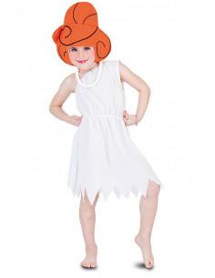 Disfraz Vilma Picapiedra para niña