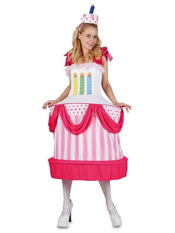 Disfraz Tarta de Cumpleaños - Comprar en Tienda Disfraces Bacanal