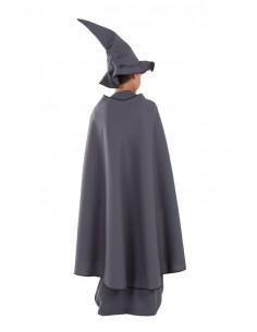 Disfraz de mago gris para nino