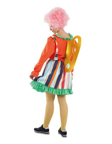 Disfraz de muñeca de cuerda para mujer