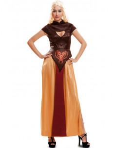 Disfraz Reina Dragon guerrera para mujer