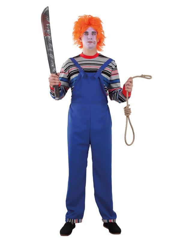 Disfraz de muñeco diabólico para hombre
