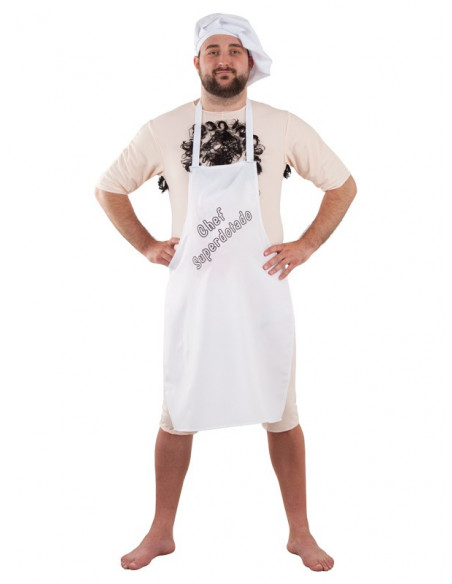 Disfraz de chef superdotado