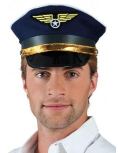 Gorra piloto de aviación