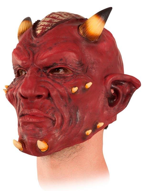 Máscara demonio de látex