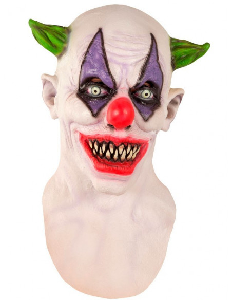 Mascara de payaso diabólico