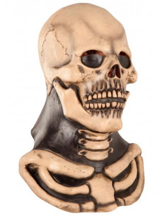 Mascara esqueleto zombie
