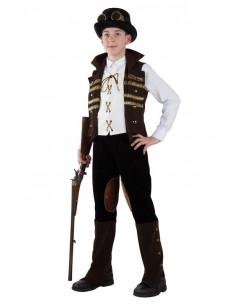 Disfraz steampunk para niño