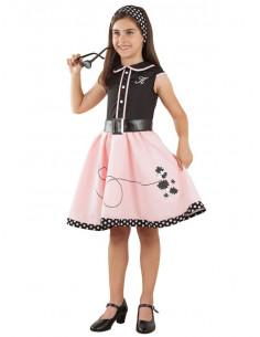 Vestido Años 50 para niña