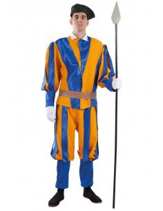 Disfraz de Guardia Suiza del Vaticano