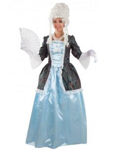 Disfraz de marquesa para mujer  Tallas-M