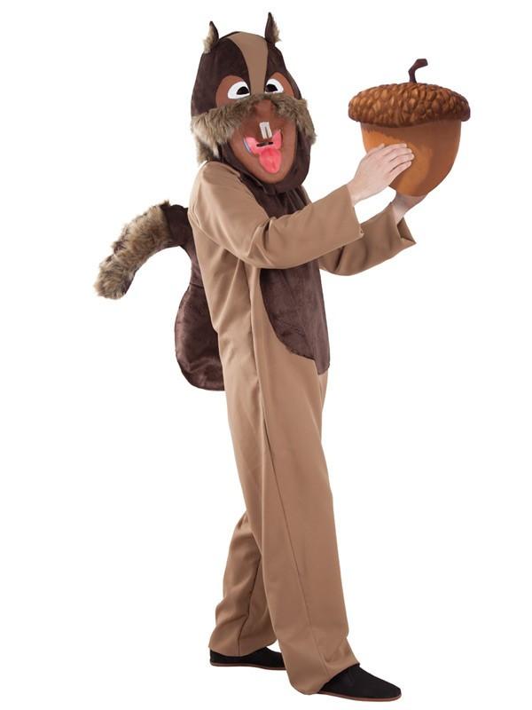 Disfraz de ardilla