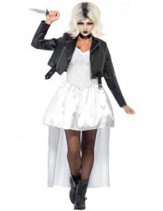 Disfraz Novia de Chucky para mujer