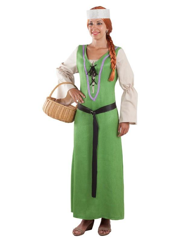Disfraz De Campesina Medieval Comprar En Tienda Disfraces Bacanal