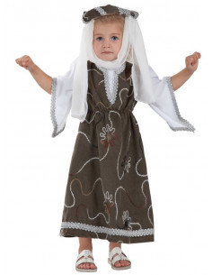 Disfraz de princesa medieval para bebé
