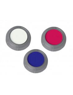 Maquillaje al agua fluor