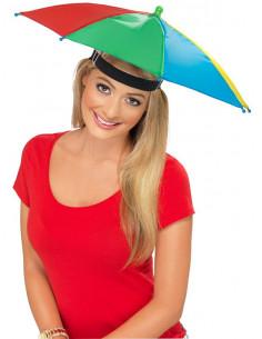 Gorro paraguas multicolor