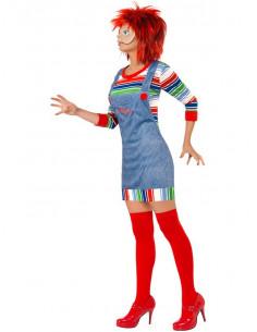 Disfraz Chucky para mujer