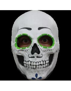 Mascara calavera catrin de latex