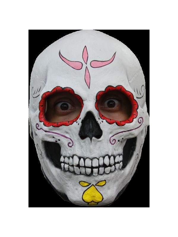 Máscara calavera Catrina de látex