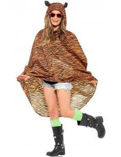 Chubasquero tigre party poncho