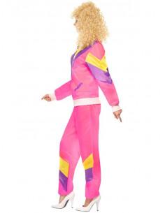 Disfraz chándal retro mujer