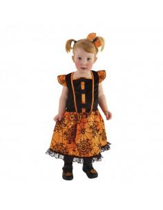 Disfraz bruja Arañita bebé