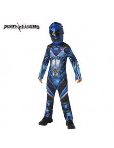 Disfraz Power Ranger Azul para niño