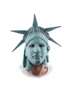 Mascara estatua de la libertad
