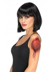 Tatuaje piel rasgada