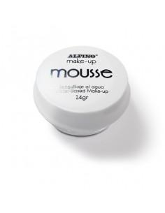 Maquillaje al agua Mousse blanco
