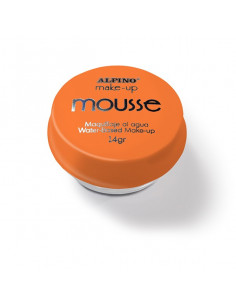 Maquillaje al agua Mousse naranja