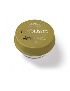 Maquillaje al agua Mousse oro