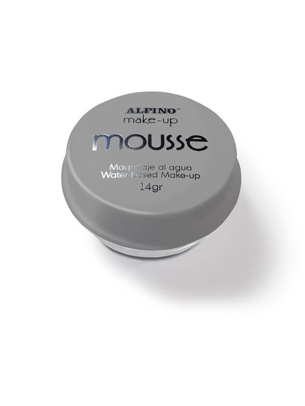 Maquillaje al agua Mousse plata