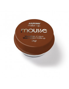 Maquillaje al agua Mousse marron