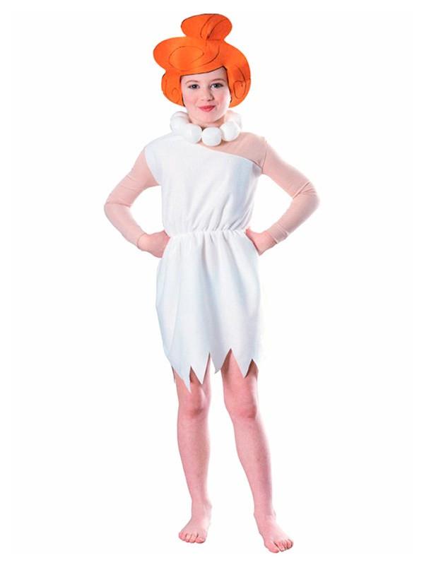 Disfraz de Vilma Picapiedra niña