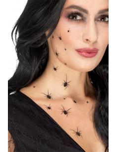 Tatuajes arañas negras