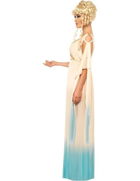 Disfraz griega para mujer lateral