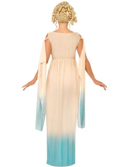 Disfraz griega para mujer trasera