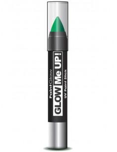Cera fosforescente neón UV verde