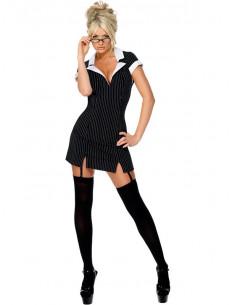 Disfraz secretaria sexy