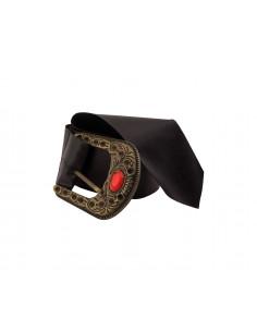 Cinturón hebilla con piedra