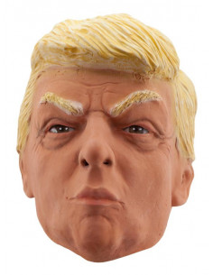 Máscara de Donald Trump de látex